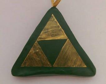 Legend of Zelda Hyrule Triforce Christmas decoration