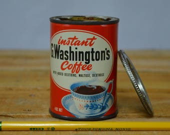 G. Washington's Instant Coffee Tin