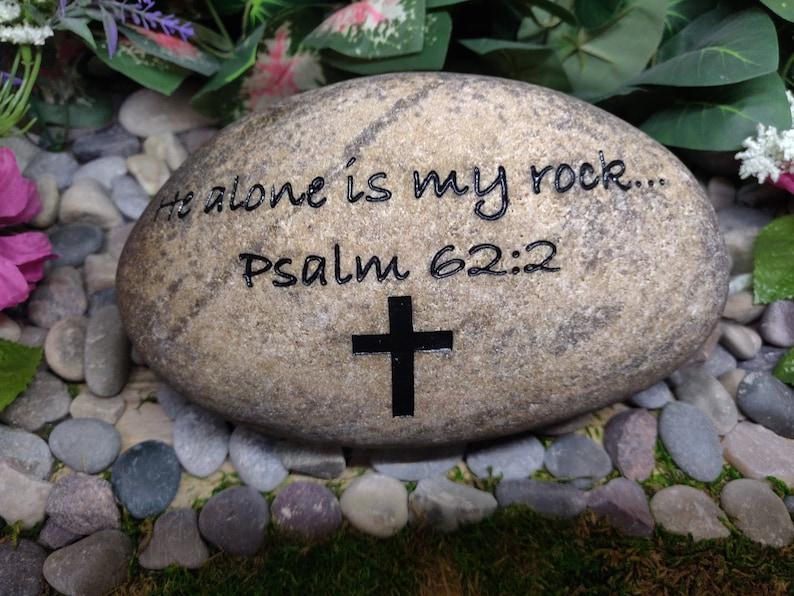 Biblical Bible Scriptures Proverbs Wisdom Stones River Rocks image 0