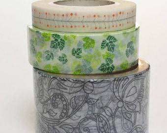 masking tape vegetable pattern choice, 5 or 10 meters
