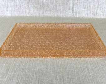 Pink William Bounds Grainware Lucite Tray