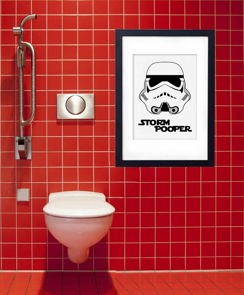 HAPPINESS IS A LONG FUNNY QUOTE WALL ART DECAL STICKER VINYL BATHROOM TOILET #3