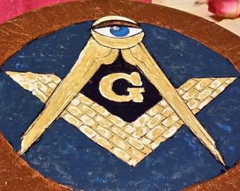 Masoneria Emblems-Esoteric Masonic symbol