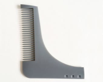 graphic regarding Beard Shaping Template Printable named Beard shaping Etsy
