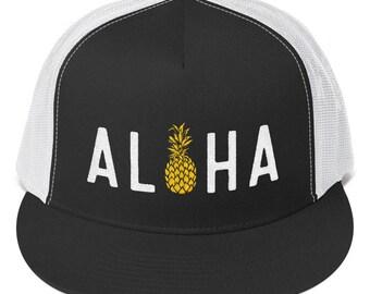 Aloha Pineapple Trucker Cap 686457972c97