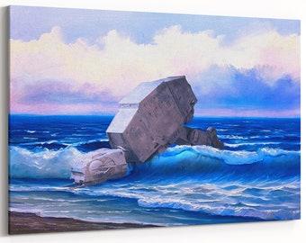 Star Wars AT-AT Walker | Star Wars canvas | Star Wars wall mural | large wall art | Star Wars gift | canvas wall art | Star Wars painting