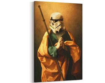 Star Wars Art Print | art on canvas | Stormtrooper print | vintage art | Star Wars Print