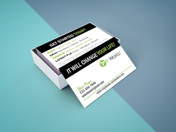image 0 - It Works Business Cards