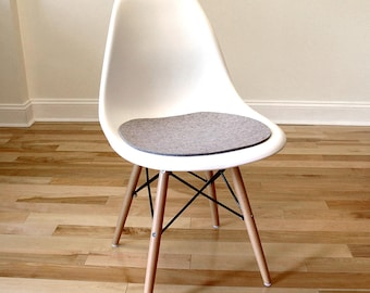 Seat Pad   Wool Felt   Perfect For Eames Style Side Chairs