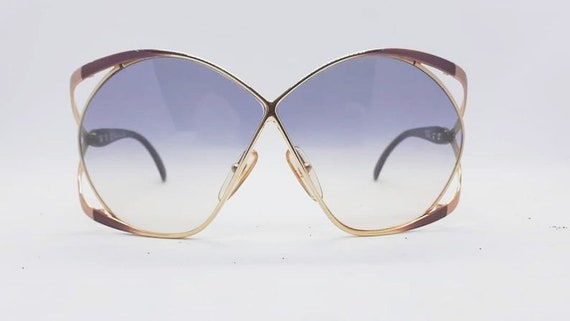 RARE CHRISTIAN DIOR Butterfly Oversized vintage su