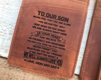 Wallets For Son Etsy