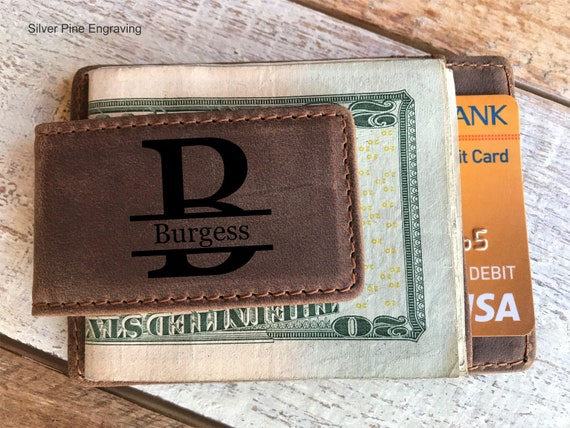 Hecho en Edo de Mexico Money Clip Wallet Personalized Engraving Included