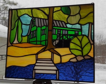 Custom Stained Glass Project Pictures-various custom projects that have been made for various prices. What can I make for You? Message me!
