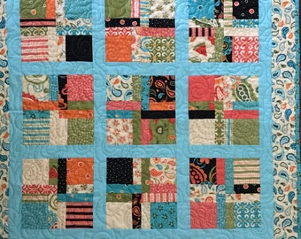 Vibrantly Colored Wall Hanging or Table Topper