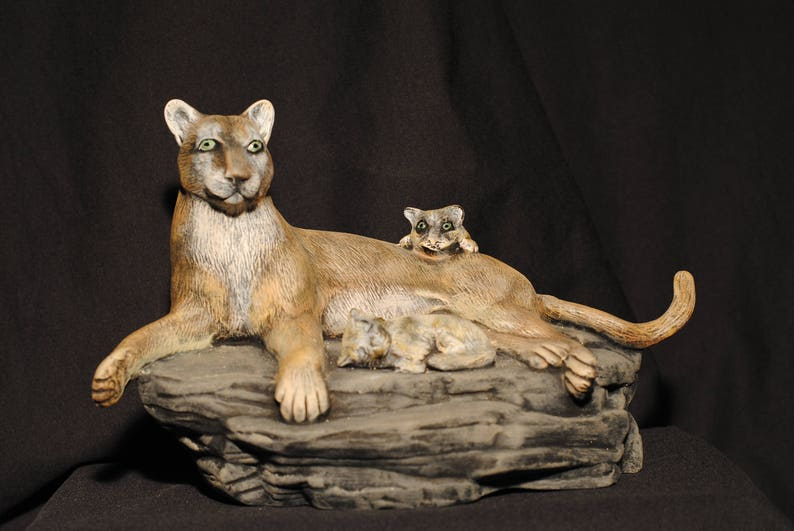 85d4157c8730 Mountain Lion and Cubs