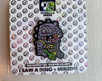 Limited Glow in the Dark SnakeSpitter pin collab set with isawadino
