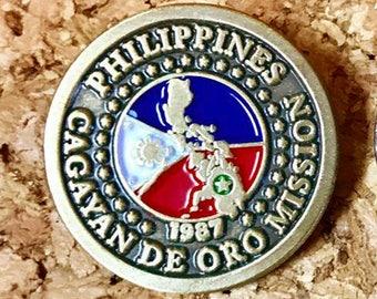 39f63b8186 Philippines Cagayan de Oro Mission lapel pin (LDS)