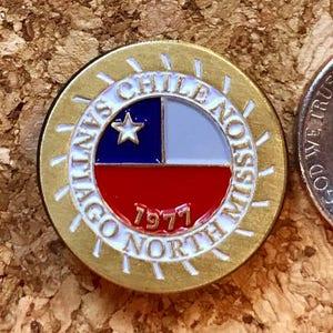 Chile Osorno Mission lapel pin LDS