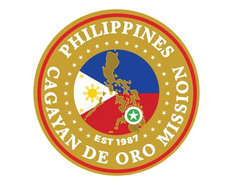 be63aa57e3 Philippines Cagayan de Oro Mission car decal
