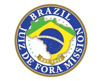 Brazil Juiz De Fora Mission Car Decal