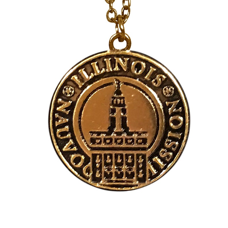 LDS Illinois Nauvoo Mission Necklace
