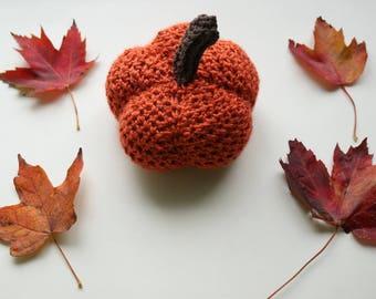 Fall Decor,  Thanksgiving Decor, Crochet pumpkin, Chic Pumpkin,  Thanksgiving Center Piece,  Holiday Decor,  Photo Prop