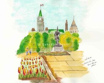 Ottawa Tulip Festival Major Hill Park