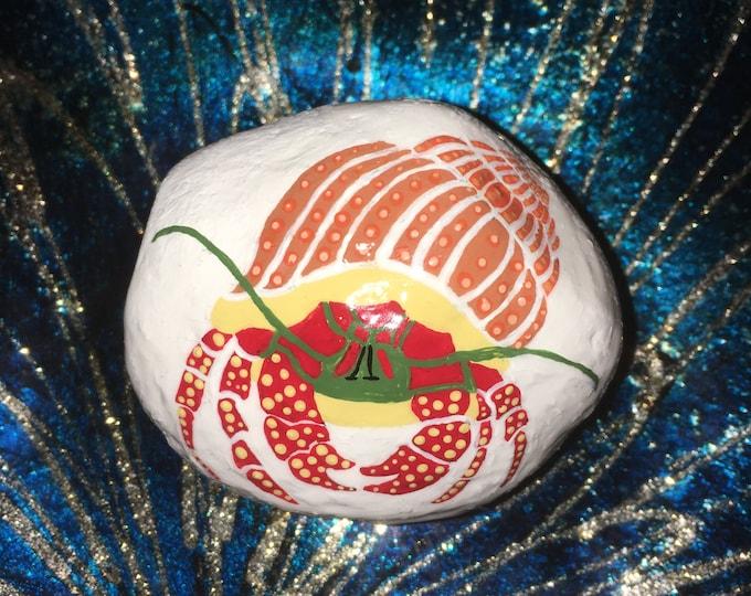 Painted rocks, hand painted rocks, gifts under 50, beach decor, coastal decor, whimsical beach decor, beach rocks, painted pebbles