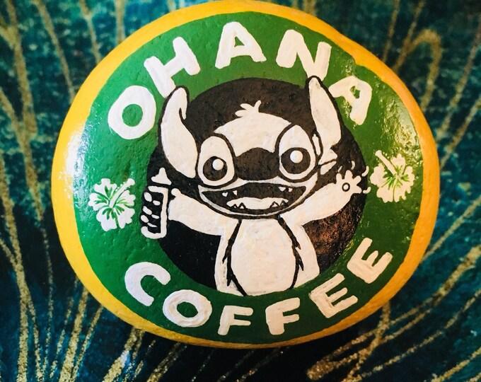 Stitch with Starbucks