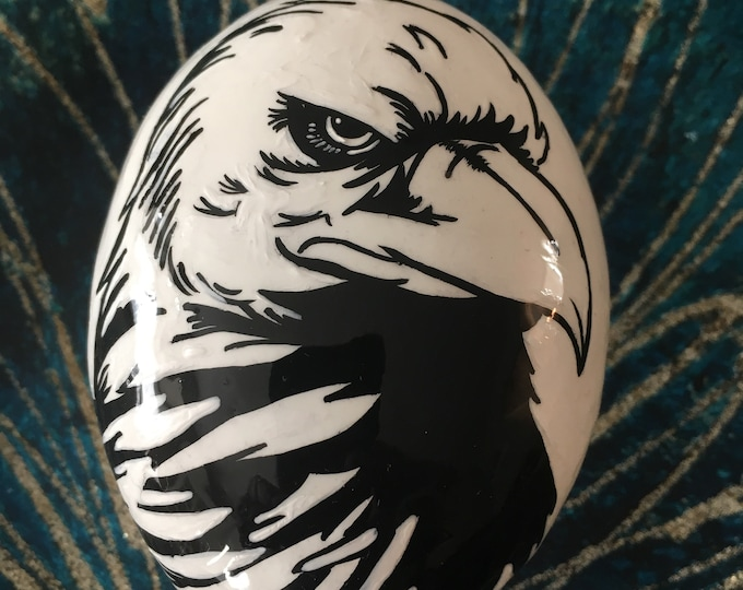 Hand painted Eagle, Painted rocks, gifts under 50, bird lovers gifts