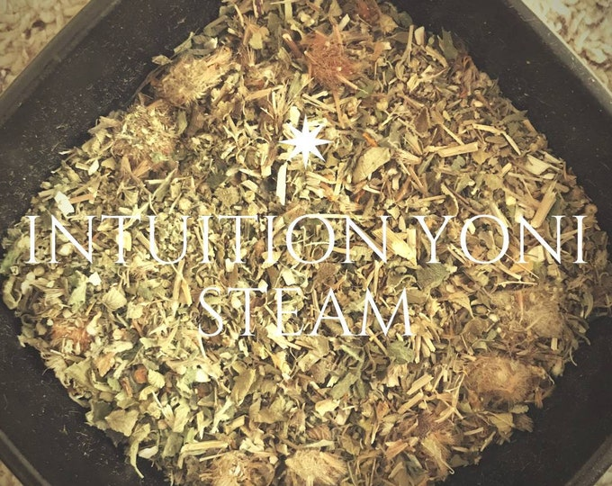 INTUITION Extra Strength Yoni Steam, Vaginal Steam, Yoni Detox, V- Steam
