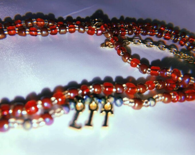 LIT Custom Waist Beads, Lettered Waist Beads, Waist Beads, Belly Beads, Belly Chains, Waist Chains