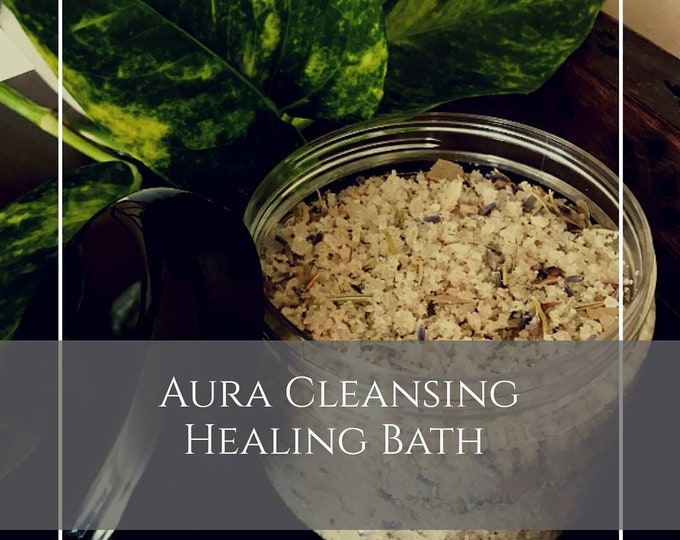All Purpose Healing Detox Bath Salt Aura Cleansing Detox Cleanse