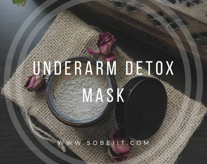 Underarm Detox Mask, Armpit Detox Powder, Armpit Primer, Underarm Detox Powder, Armpit Detox
