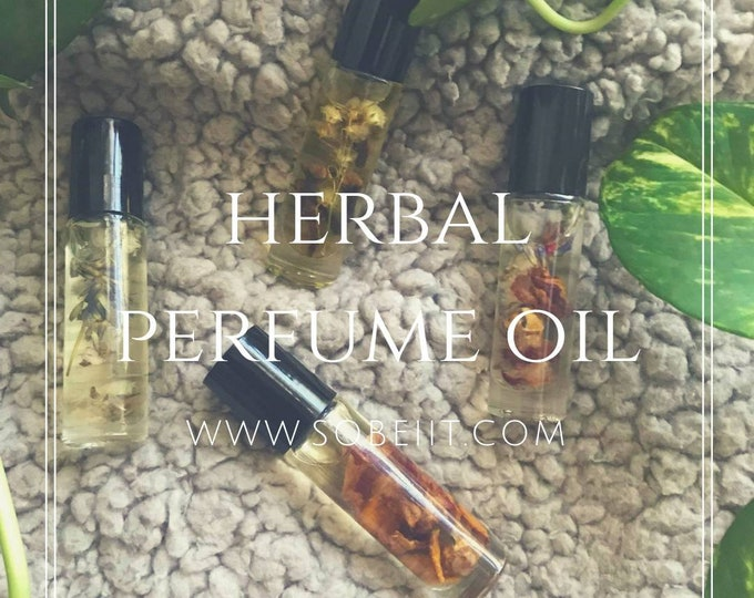 Herbal Perfume Oil, Roll on Perfume, Body Perfume, Roll On Fragrance Oil