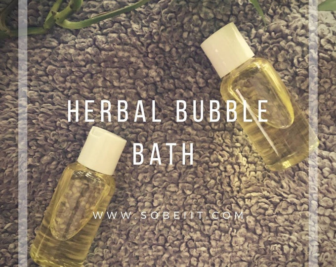 Herbal Bubble Bath, Bubble Bath