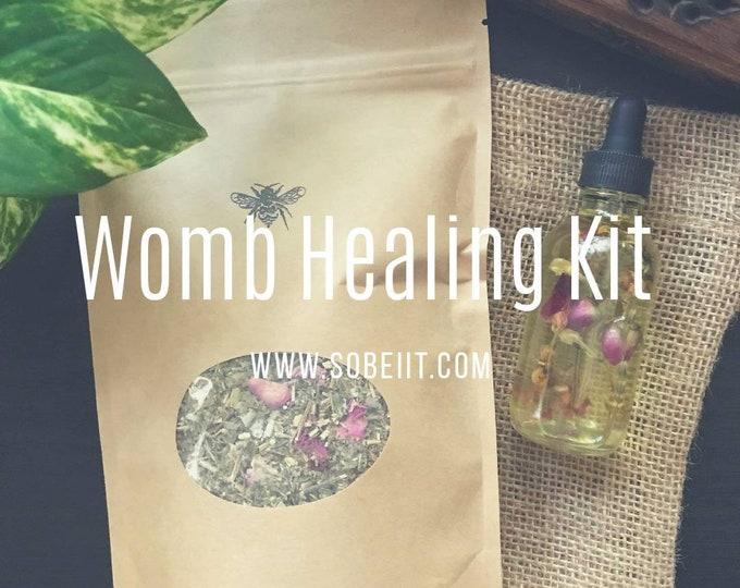 Womb Healing Kit, Yoni Healing Kit, Intimate Healing Kit, Yoni Healing Detox Kit