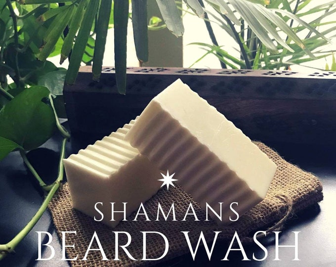 Shamans Beard Wash, Beard Bar, Beard Soap