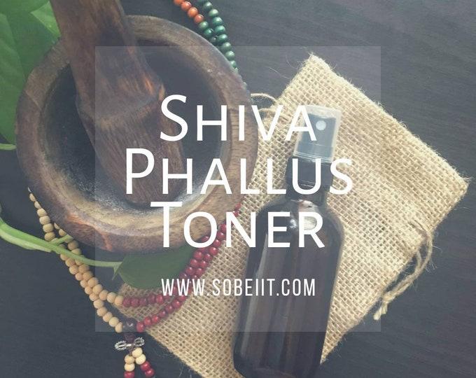 Shiva Phallus Toner, Men's Hygiene Spray, Jock Spray, Body Odor Spray