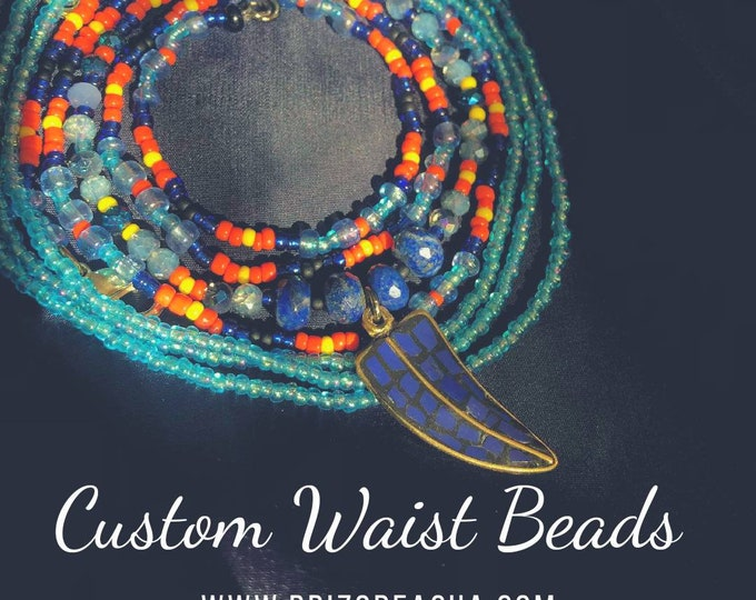 Custom Waist Beads, Belly Beads, Waist Chains, Belly Chains, Body Jewelry