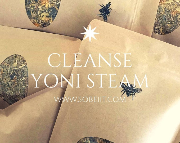 CLEANSE Yoni Detox Steam, Vaginal Steam, Yoni Steam, V-Steam