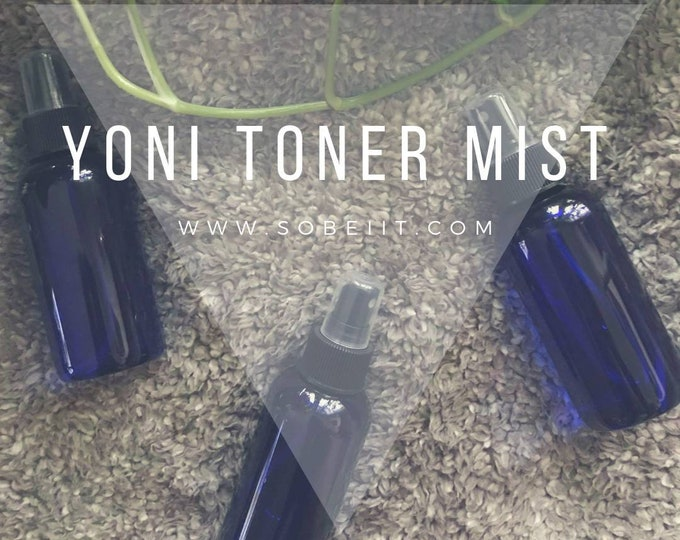 Yoni Toner Mist, Feminine Hygiene Spray, Yoni Spray, Vaginal Spray