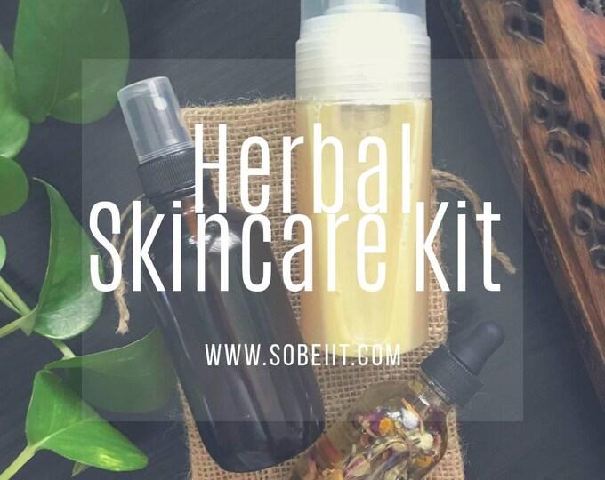 Herbal Skincare Kit, Facial Care Kit, Facial Gift Set