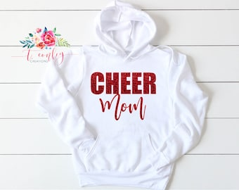 CLASSY CHEER MOM Super Soft Hooded Sweatshirt