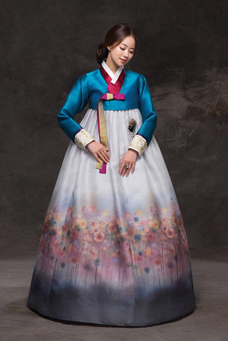 cd9031be9 Hanbok. Korean Traditional Costume. Custom-made KHS-035.   Etsy