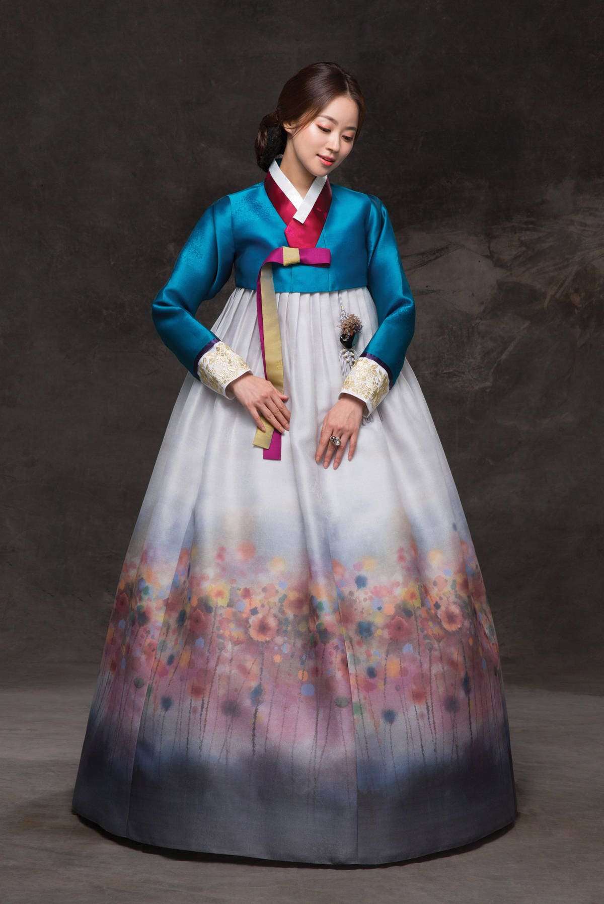 hanbok korean traditional costume custommade khs035
