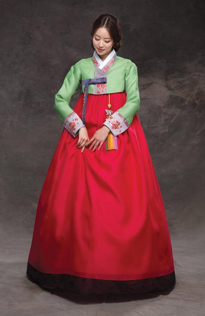 11e03ef94 Hanbok. Luxury Korean Traditional Costume. Custom made KSS-042   Etsy