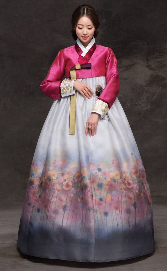 Hanbok. Luxury Korean Traditional Costume. Custom-made KHS-036. d6a2f37cd519