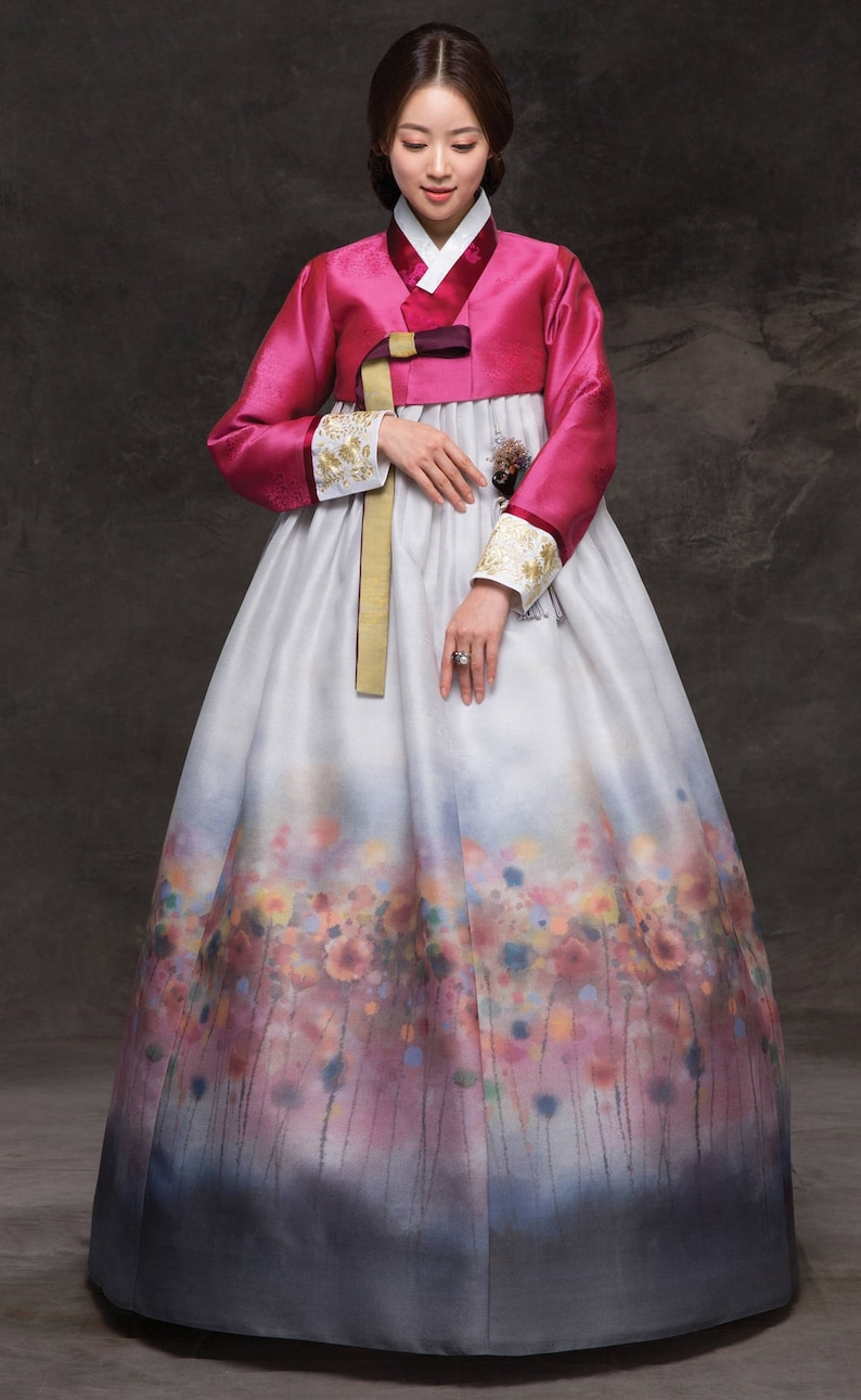 hanbok luxury korean traditional costume custommade  etsy