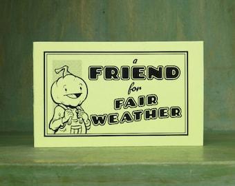 A Friend for Fair Weather Minicomic